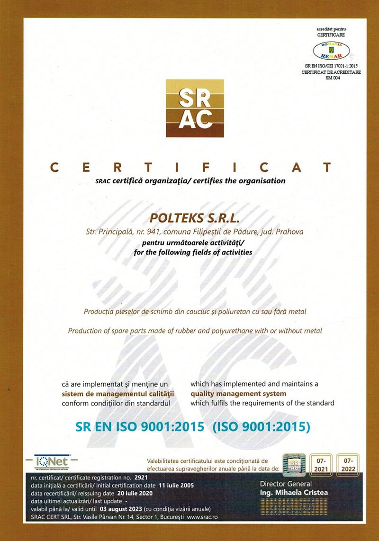 Certificarile noastre